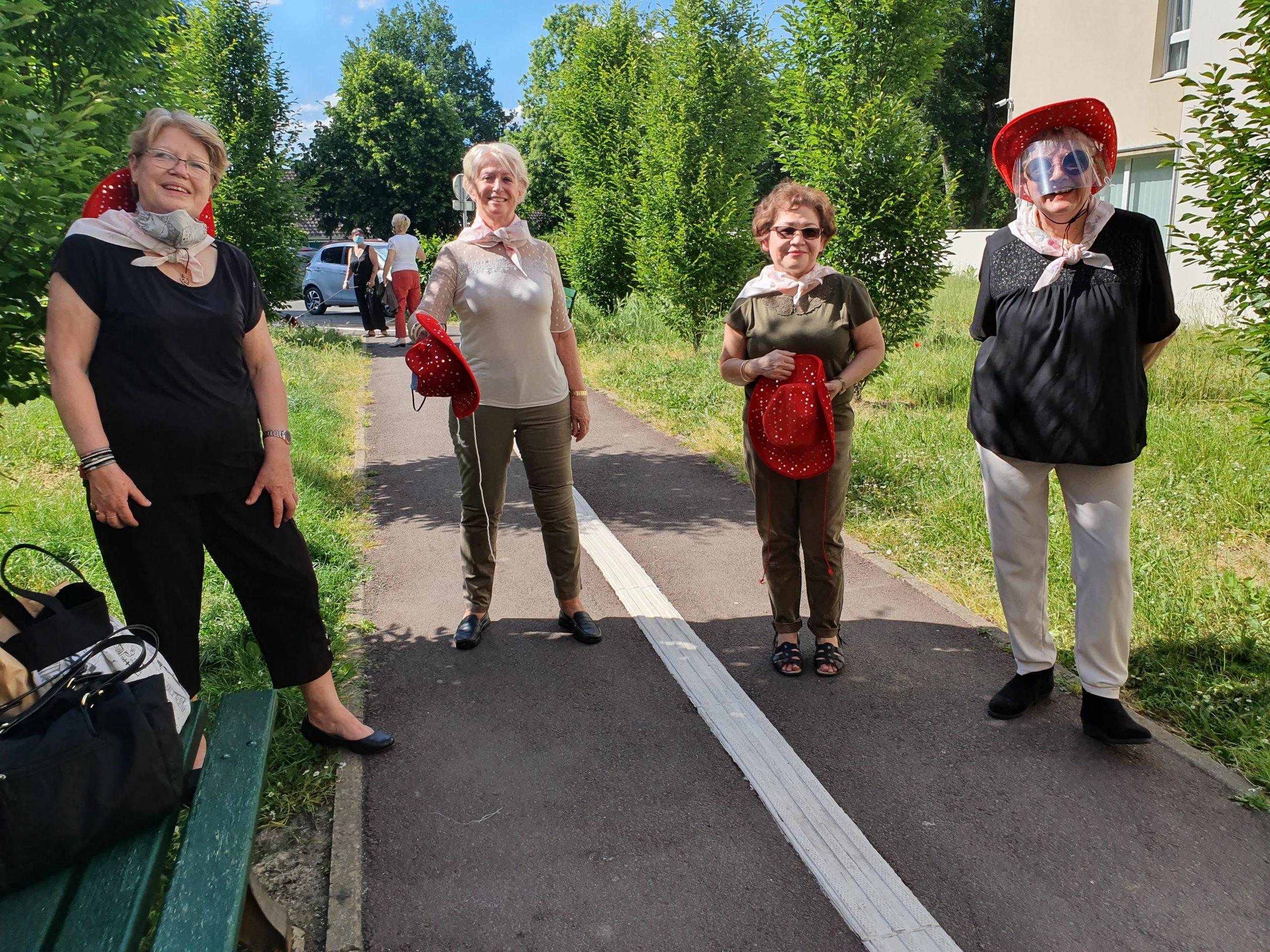 Bénévoles à la résidence Menucourt | Marianne Solidarités